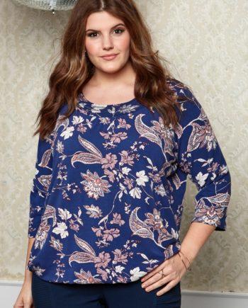 e4d451ce STRIPET BLUSE-809 - Pip Stormote • Nettbutikk for klær i store ...