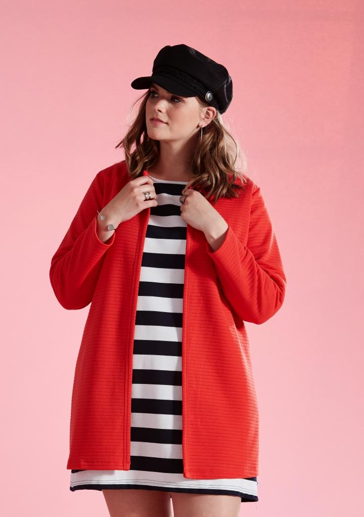 9ade5ce2 RIBBET JAKKE-433 - Pip Stormote • Nettbutikk for klær i store størrelser