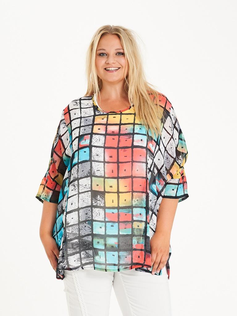a70dc51e FARGERIK BLUSE-2456 - Pip Stormote • Nettbutikk for klær i store størrelser